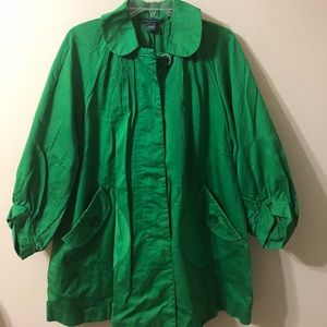 French Connection green jacket